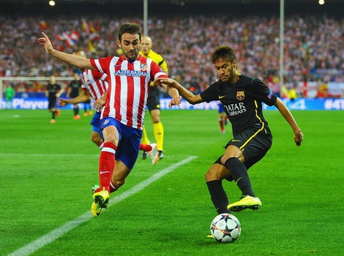 Atletico Madrid thắng Barcelona 1-0 tại Champions League