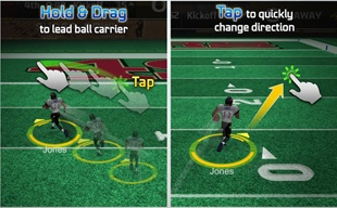 Giao diện Madden NFL Mobile