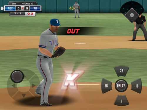 Giao diện MLB perfect inning