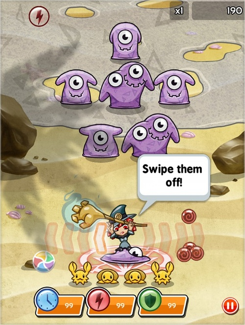 Smash it! Witch adventures: Game Halloween không thể bỏ qua