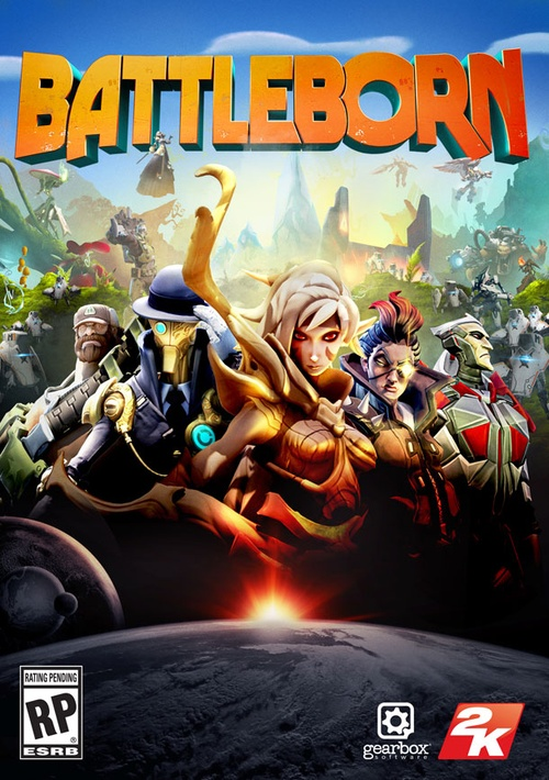 Battleborn - Game FPS lai MOBA của Gearbox Software
