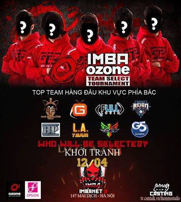Dota 2: Giải đấu Imba Ozone Team Select Tournament - ảnh 2