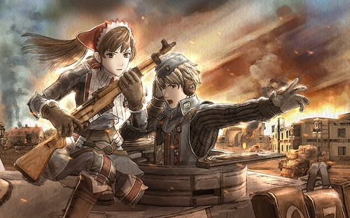 Sega đưa Valkyria chronicles lên PC