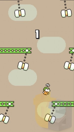 Game mới của cha đẻ Flappy bird: Swing copters