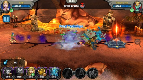 Asiasoft giới thiệu game mobile online For the tribe