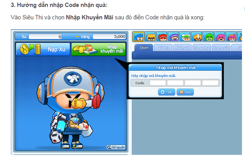 BF Online tặng game thủ bộ giftcode mới