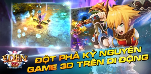 ME Corp ra mắt game mobile Eden 3D