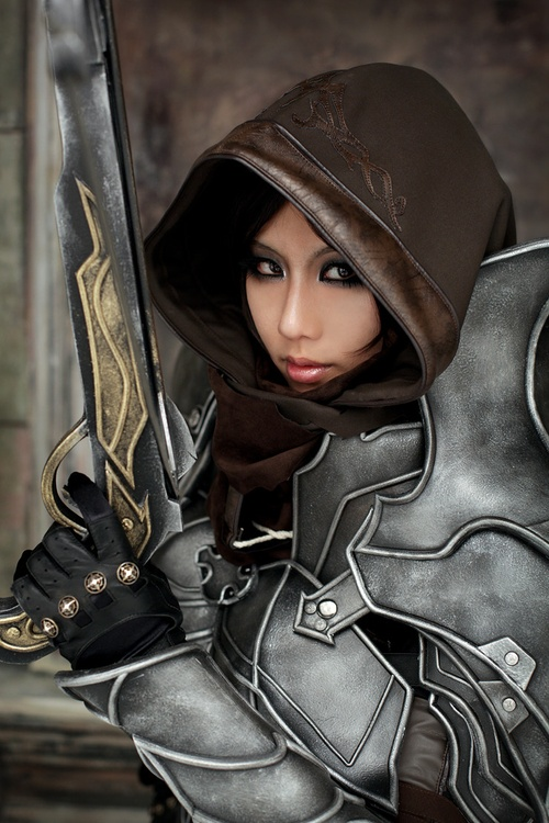 Cosplay Demon Hunter trong Diablo 3