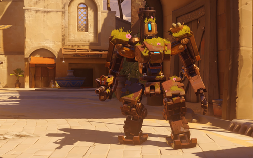 Bastion có tỉ lệ thắng cao trong Overwatch