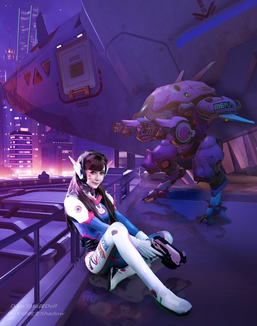 cosplay D.Va Overwatch