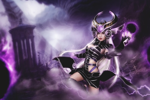 LMHT cosplay syndra