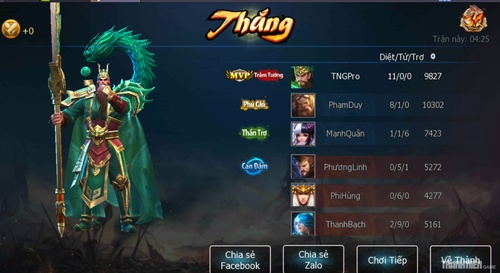top 5 game mobile tháng 5