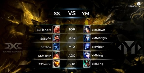 Demacia Cup 2016: Snake eSports vs Young Miracles