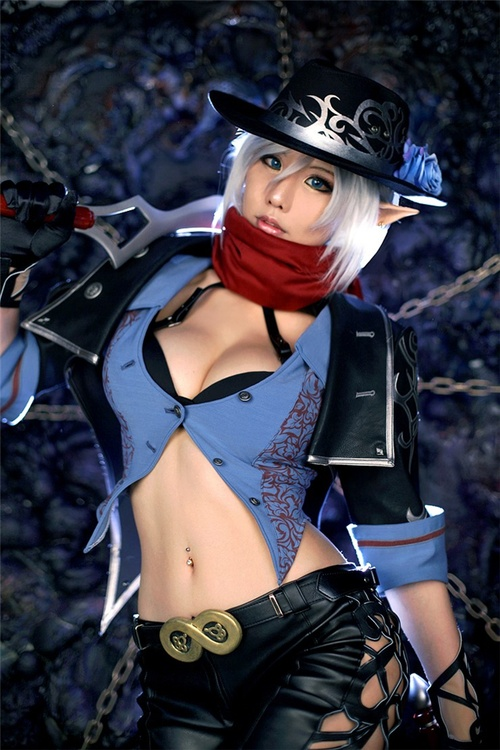 Dungeon Fighter Online: Spiral Cats cosplay