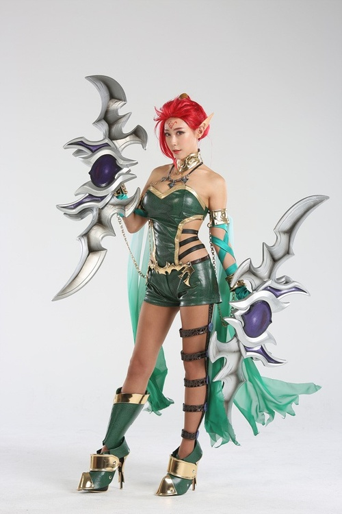 Cosplay Dragon Heart