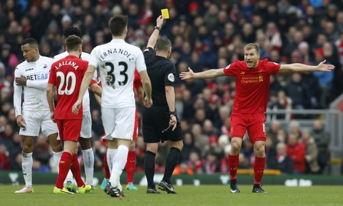 Liverpool vs Swansea City - ảnh 1