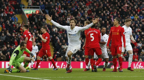 Liverpool vs Swansea City - ảnh 2
