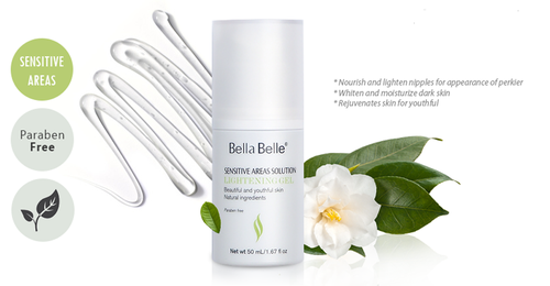 Gel dưỡng trắng da Bella Belle Sensitive Areas Solution Lightening