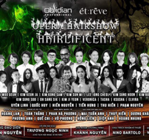 Hairlificent – Opera Hairshow Obsidian 2018