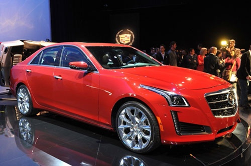 Chiếc Cadillac CTS 2014