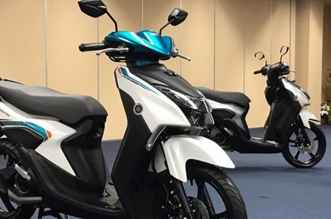 Brand new Yamaha scooter at a price of 27.5 million dong, Honda Vision competition - photo 1