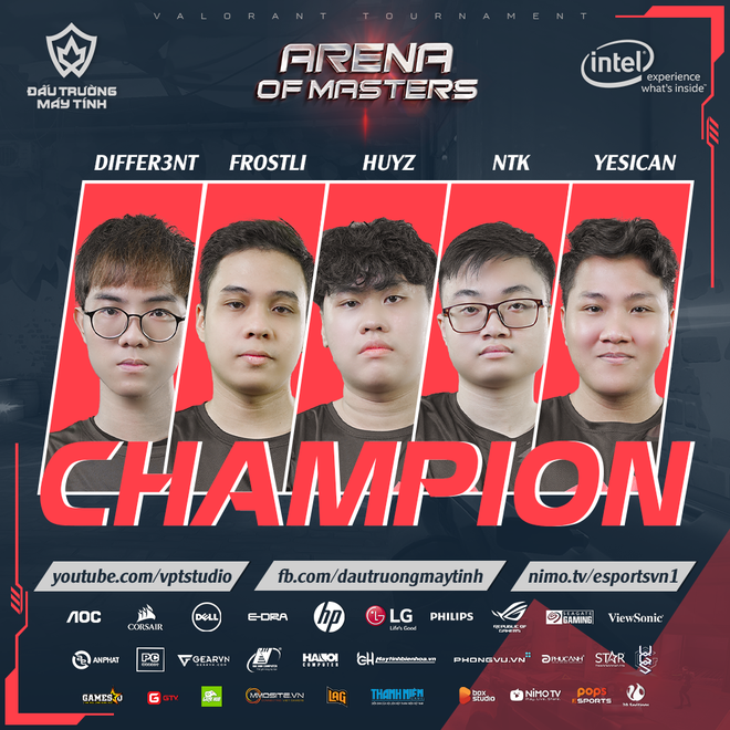 Những cái nhất của Arena of Masters 2020: Valorant Tournament