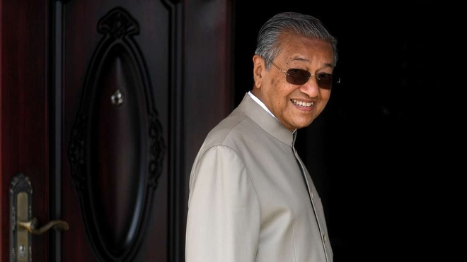 Thủ tướng Mahathir Mohamad /// AFP