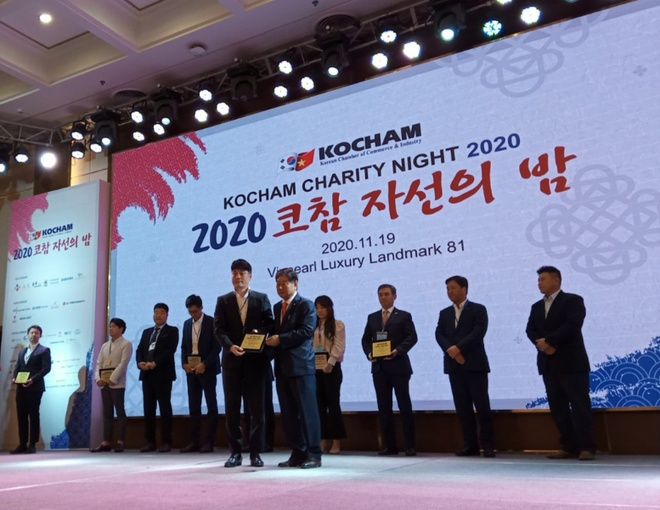 Charity Night of Korean businesses donated nearly 6 billion VND - photo 2