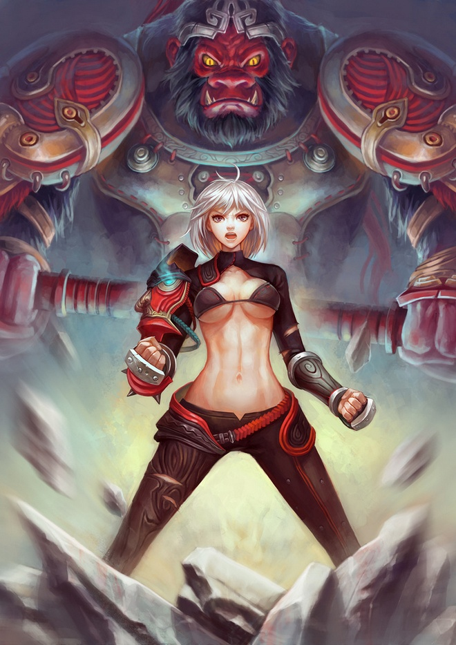 blade and soul fanart
