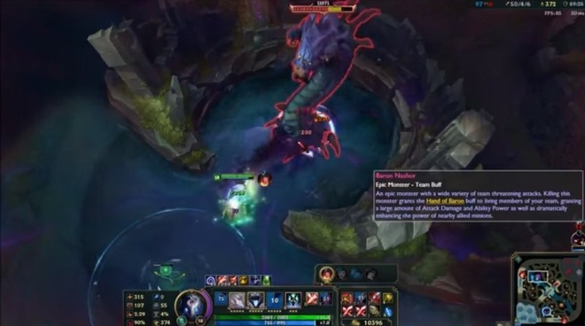 Video LMHT: Kindred solo Baron trong vòng 5 giây