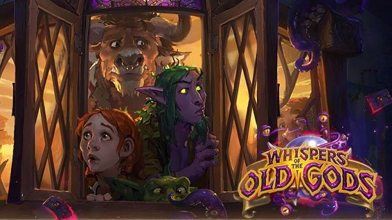 Hearthstone: Whispers of the Old Gods ra mắt tháng 5