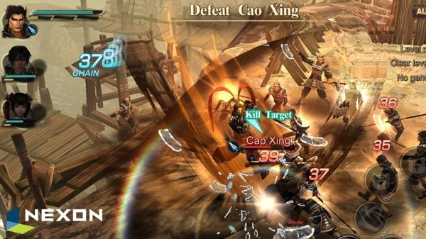Sau Perfect World, đến lượt Nexon công bố game mobile Dynasty Warriors