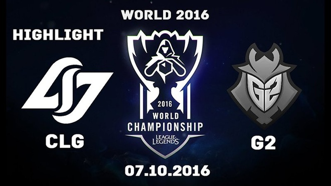 Video LMHT: Highlight CLG đối đầu G2 CKTG 2016