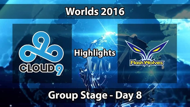 Video LMHT: Highlight C9 bị FW đè bẹp CKTG 2016