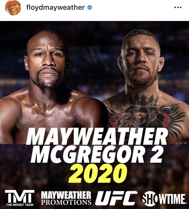 Floyd Mayweather Conor McGregor poster""
