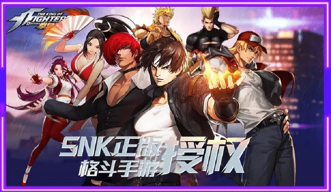Tencent mở cửa game mobile đối kháng The King Of Fighters Destiny