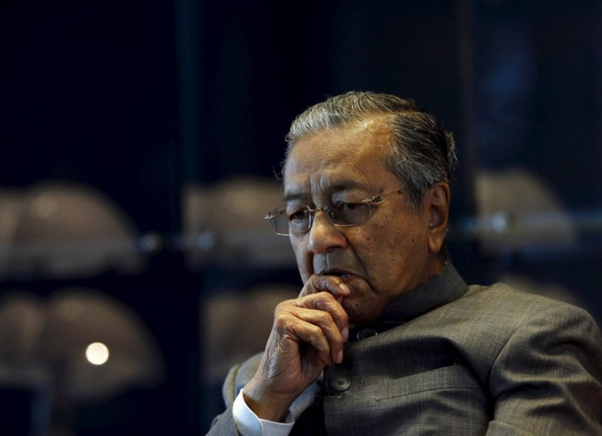 Thủ tướng Malaysia Mahathir Mohamad /// Reuters