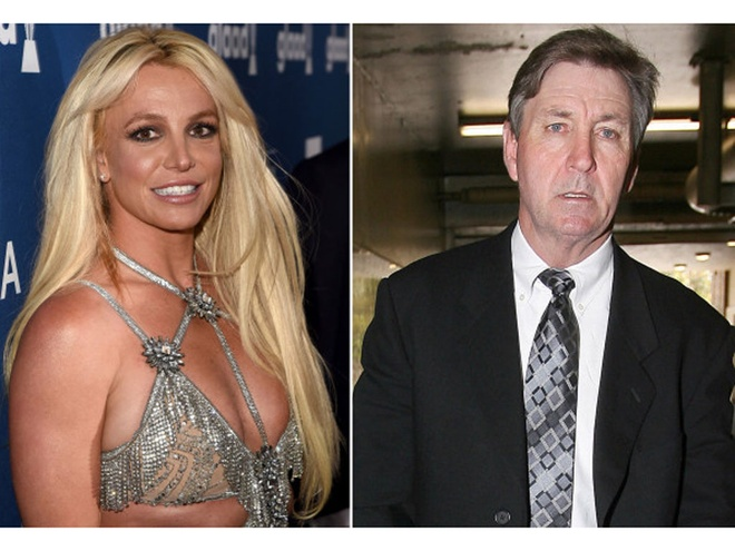 Britney Spears và cha ruột  /// GETTY IMAGES