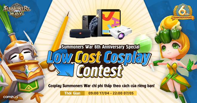 Fan hào hứng tham gia sự kiện Low Cost Cosplay của Summoners War