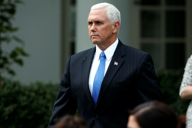 Phó tổng thống Mỹ Mike Pence  /// Reuters