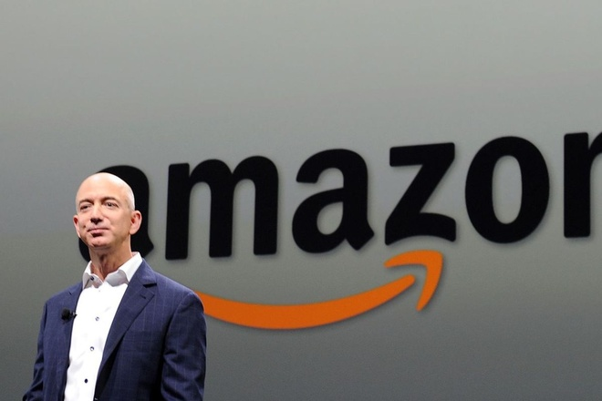 CEO Amazon Jeff Bezos /// Ảnh: AFP