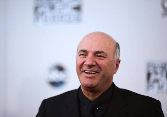 Ông Kevin O'Leary /// Ảnh: Reuters