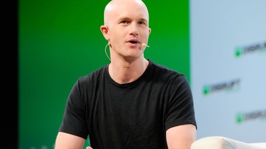 CEO Coinbase Briam Armstrong /// Ảnh: AFP/Getty Images