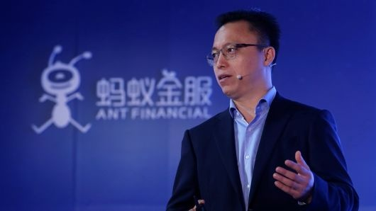 CEO Ant Financial, ông Eric Jing /// Ảnh: Reuters