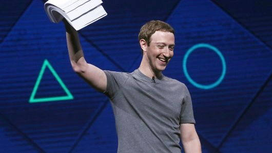 CEO Facebook Mark Zuckerberg /// Ảnh: AFP/Getty Images