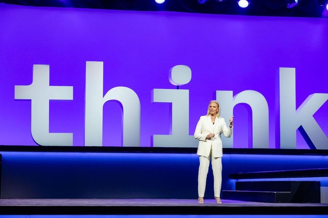 CEO IBM Ginni Rometty /// Ảnh: IBM