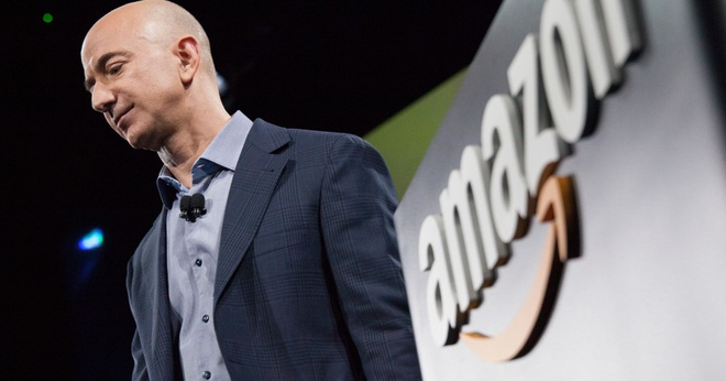 CEO Amazon Jeff Bezos /// Ảnh: AFP/Getty Images