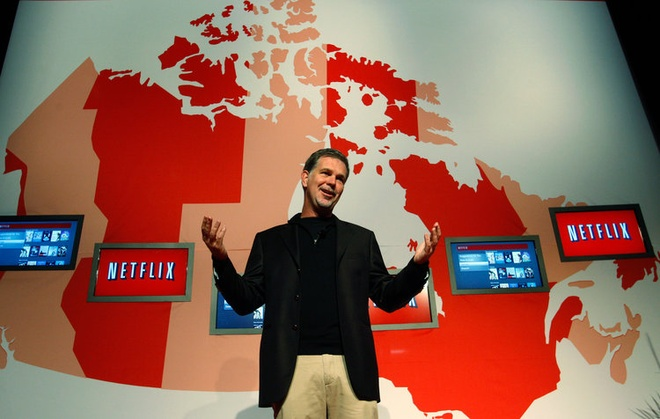 CEO Netflix Reed Hastings /// Ảnh: Reuters
