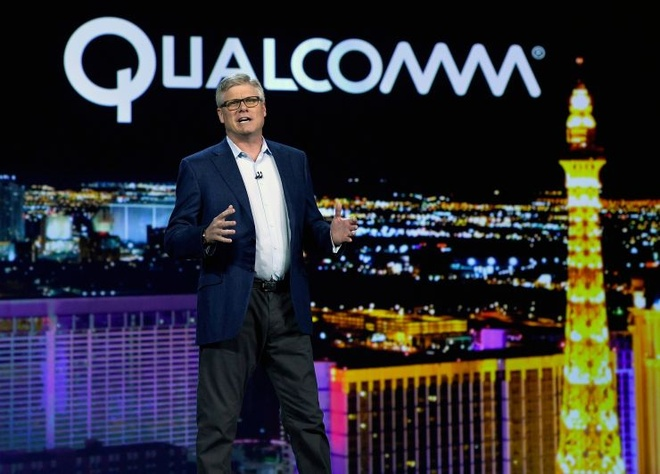 CEO Qualcomm Steve Mollenkopf /// Ảnh: AFP/Getty Images