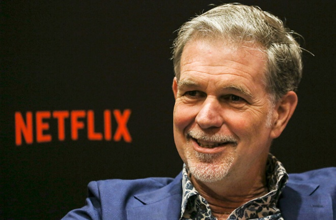 CEO Netflix Reed Hastings /// Ảnh: AFP/Getty Images